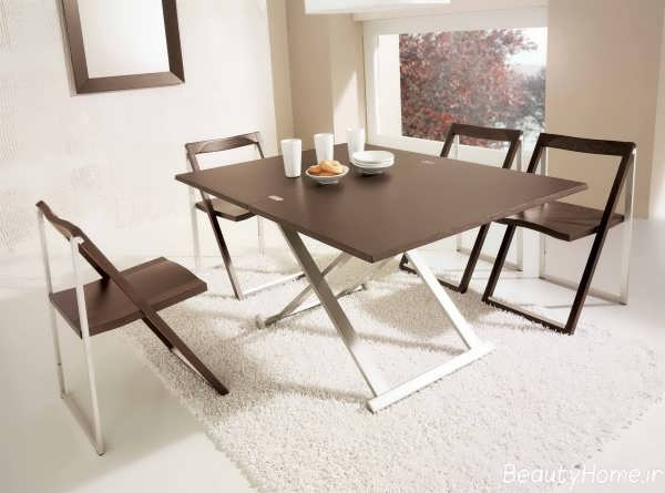 مدل های شیک و زیبا میز ناهار خوری