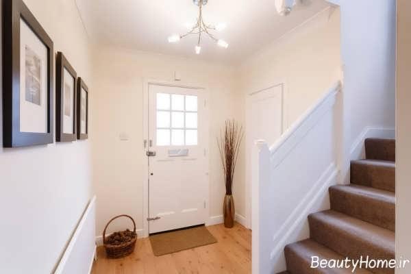 طراحی ساده و کاربردی ورودی منزل