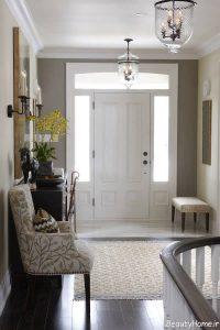 طراحی دکوراسیون داخلی ورودی منزل