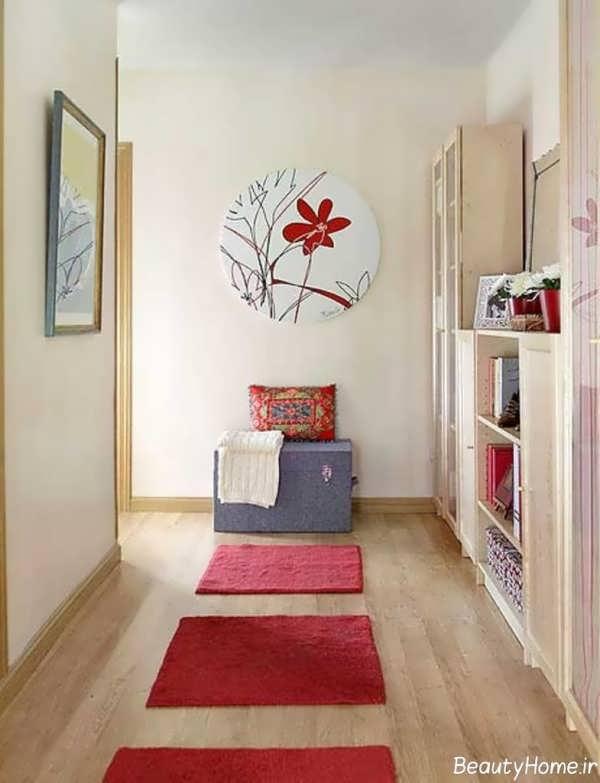 دکوراسیون جذاب ورودی منزل با طراحی متفاوت