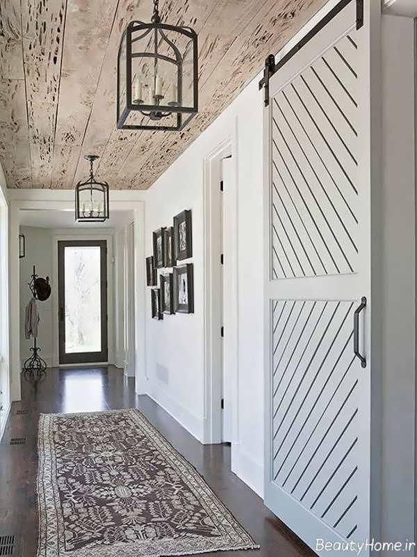 دکوراسیون ورودی منزل با طراحی جذاب و شیک