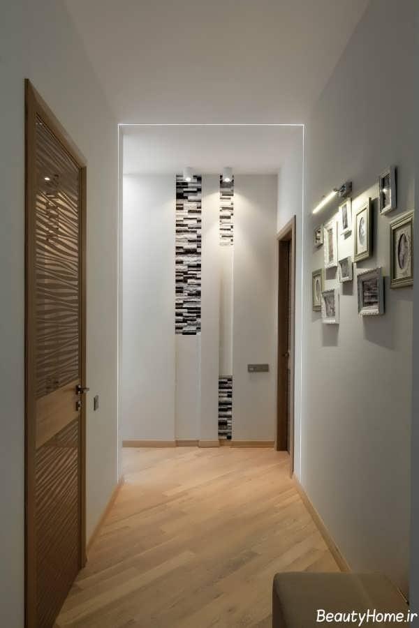 دکوراسیون زیبا و متفاوت راهرو ورودی منزل