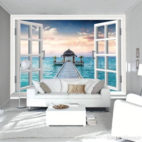 مدل کاغذ دیواری پوستری