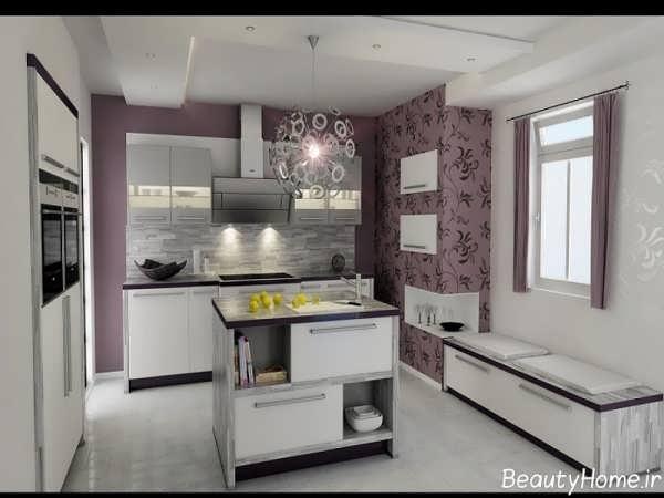 مدل کاغذ دیواری جدید آشپزخانه