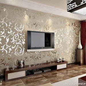 مدل کاغذ دیواری پست تلویزیون