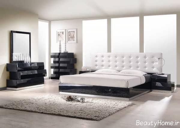 مدل زیبا و متفاوت سرویس خواب سفید