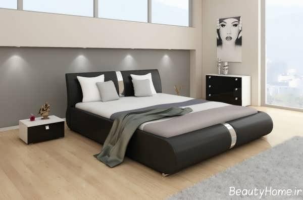 مدل سرویس خواب با رنگ تیره