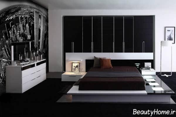 سرویس خواب با رنگ تیره