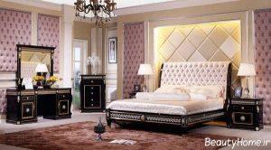 دکوراسیون اتاق خواب با سبک کلاسیک و زیبا