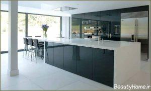 مدل زیبا و متفاوت کابینت آشپزخانه