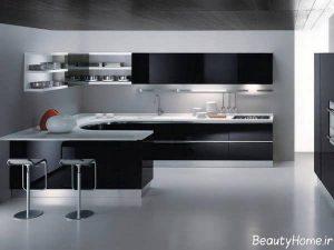 مدل کابینت مدرن و زیبا آشپزخانه