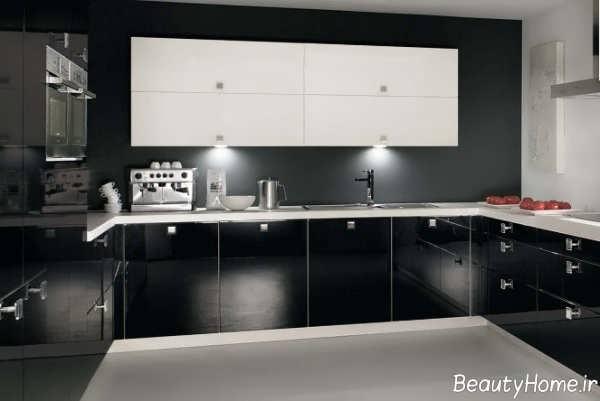 مدل شیک و زیبا کابینت آشپزخانه