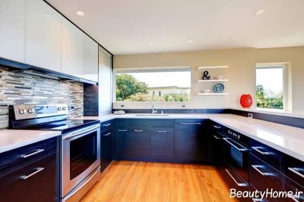 مدل جدید کابینت آشپزخانه
