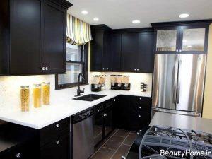 مدل کابینت آشپزخانه جدید و شیک