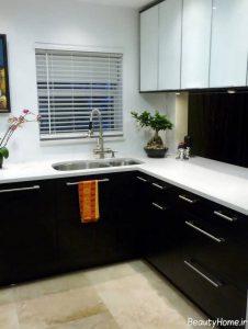 مدل زیبا و جذاب کابینت آشپزخانه