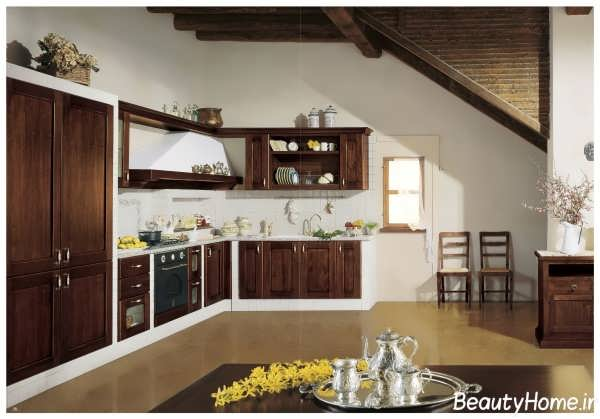 دکوراسیون داخلی آشپزخانه کلاسیک