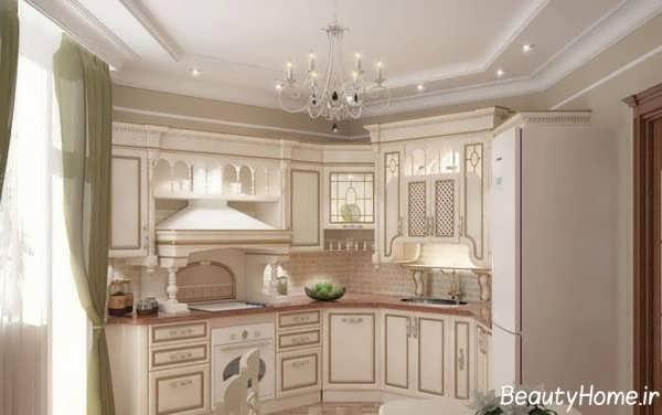 طراحی شیک و کاربردی دکوراسیون آشپزخانه