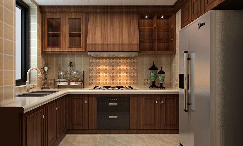 دکوراسیون آشپزخانه کلاسیک با طراحی شیک و کاربردی