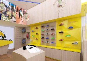 طراحی دکوراسیون داخلی فروشگاه