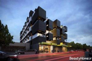 نما مدرن و شیک ساختمان