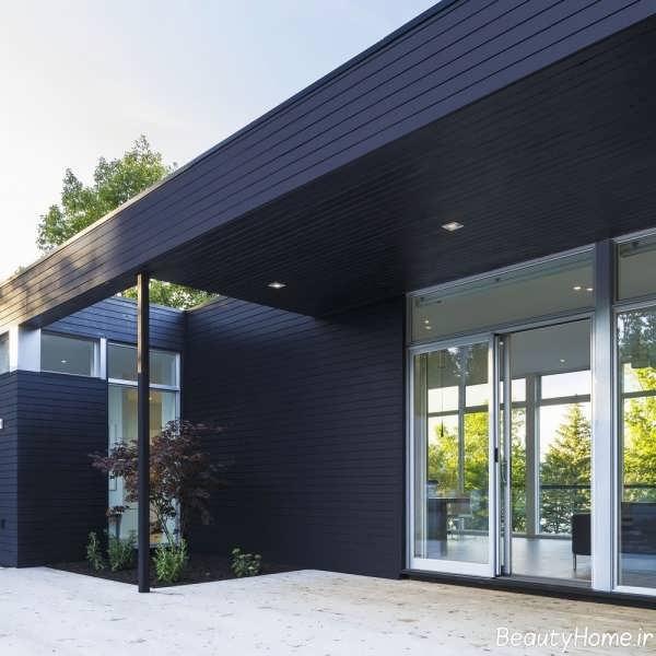 معماری شیک و زیبا خانه دوبلکس