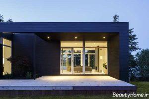 معماری شیک و بی نظیر خانه دوبلکس