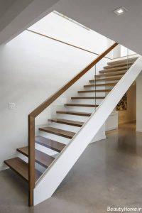 طراحی راه پله خانه دوبلکس