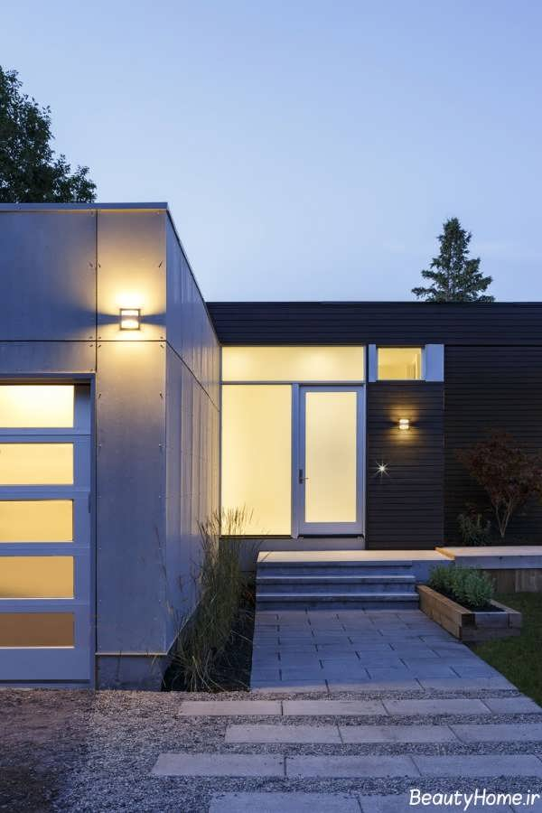 طراحی شیک و متفاوت خانه دوبلکس