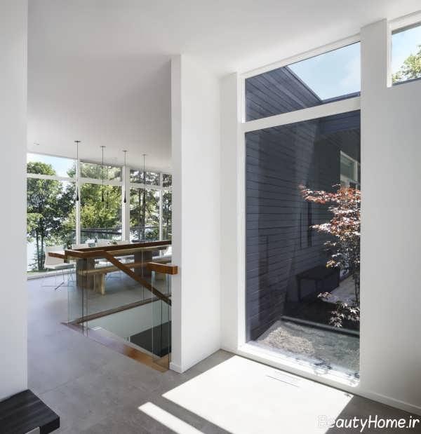 طراحی زیبا و متفاوت معماری خانه دوبلکس