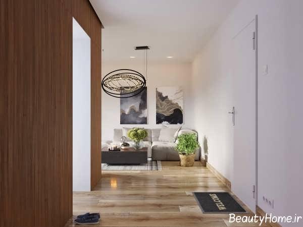 دکوراسیون زیبا و شیک خانه با فضای کوچک