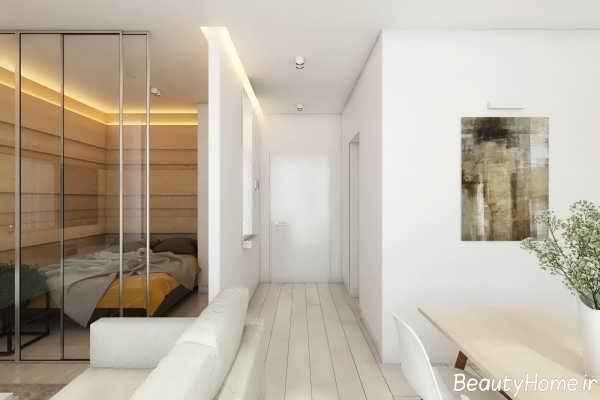 طراحی دکوراسیون زیبا و شیک خانه کوچک