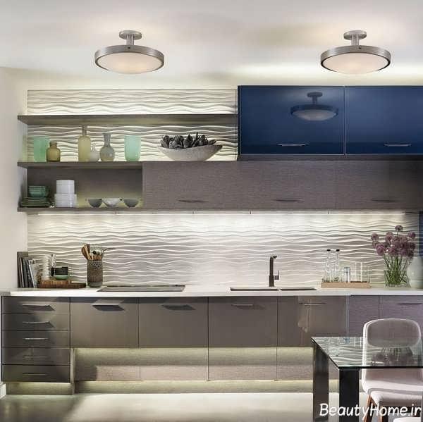دکوراسیون آشپزخانه 2017 جدید و شیک برای خانه های مدرن