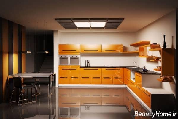 دکوراسیون جذاب و متفاوت آشپزخانه