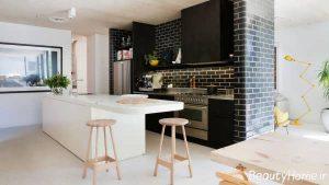 دکوراسیون آشپزخانه کوچک 2017
