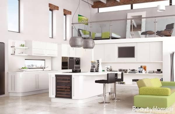 دکوراسیون آشپزخانه 2017 با طراحی شیک و کاربردی