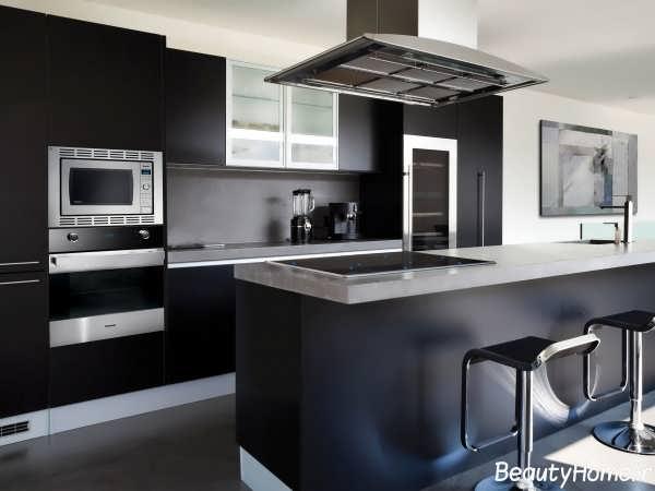 دکوراسیون تیره آشپزخانه در سال 2017