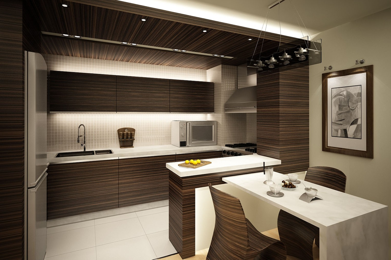 طراحی دکوراسیون آشپزخانه 2017