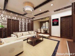 طراحی داخلی شیک و مدرن اتاق پذیرایی