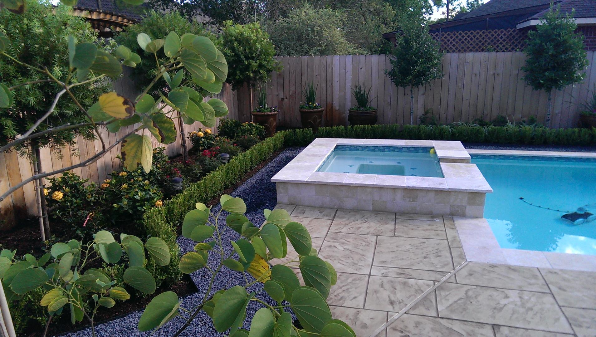 محوطه سازی حیاط با طراحی شیک و کاربردی