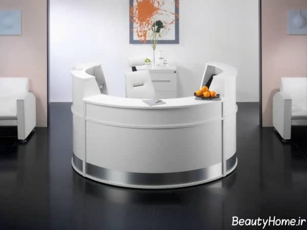 مدل میز سفید پیشخوان