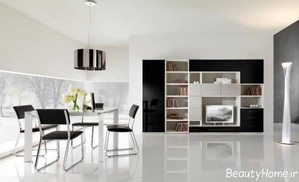 مدل میز تلویزیون با طراحی کاربردی و متفاوت