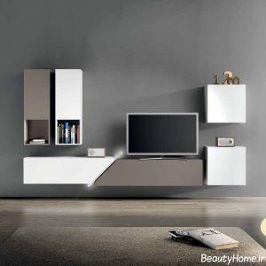 مدل میز تلویزیون 2017 با طراحی کاربردی و شیک