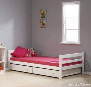 مدل تخت خواب چوبی مدرن