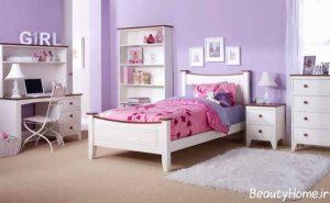 مدل تخت خواب چوبی بچه گانه