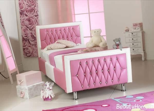 مدل تخت تک نفره دخترانه