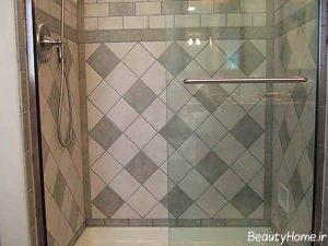 طرح کاشی حمام