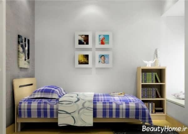 دکوراسیون داخلی اتاق خواب پسرانه جوان
