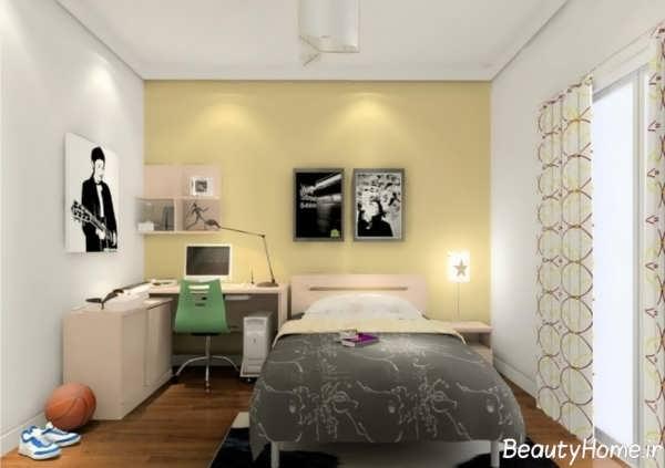 طراحی کاربردی و متفاوت اتاق خواب پسرانه