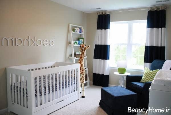 دکوراسیون مدرن و زیبا اتاق نوزاد
