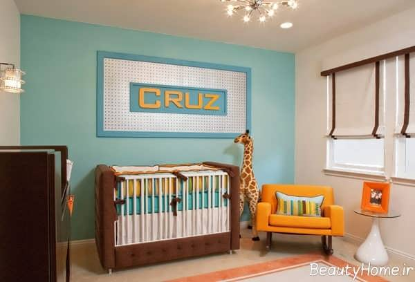 چیدمان اتاق نوزاد